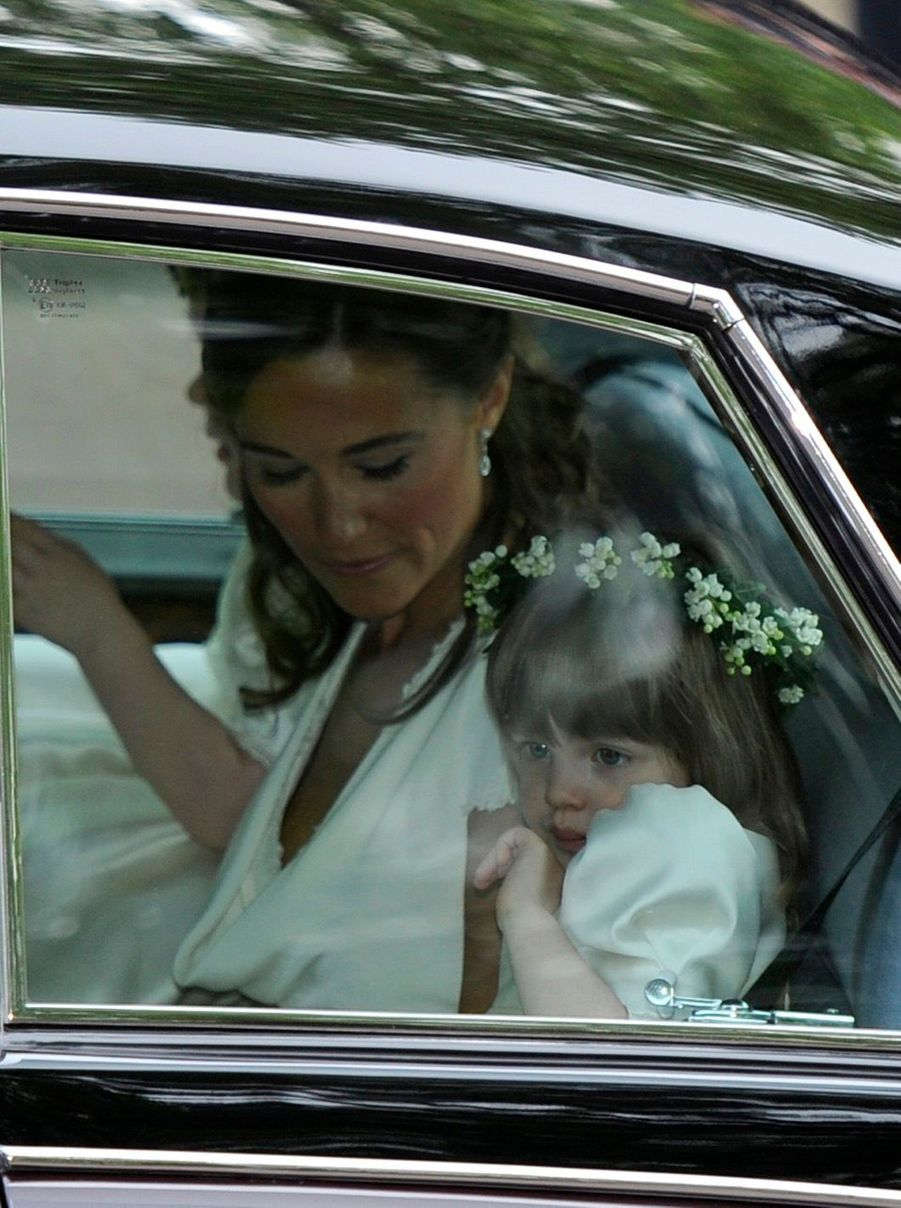 Pippa Middleton Au Mariage De Sa Soeur Kate Middleton Avec Le Prince William, Le 29 Avril 2011 À Londres 4