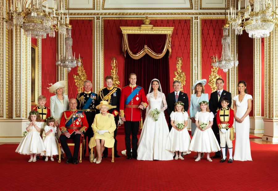 Pippa Middleton Au Mariage De Sa Soeur Kate Middleton Avec Le Prince William, Le 29 Avril 2011 À Londres 41
