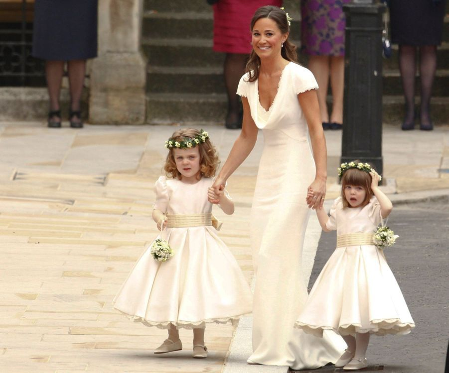 Pippa Middleton Au Mariage De Sa Soeur Kate Middleton Avec Le Prince William, Le 29 Avril 2011 À Londres 5