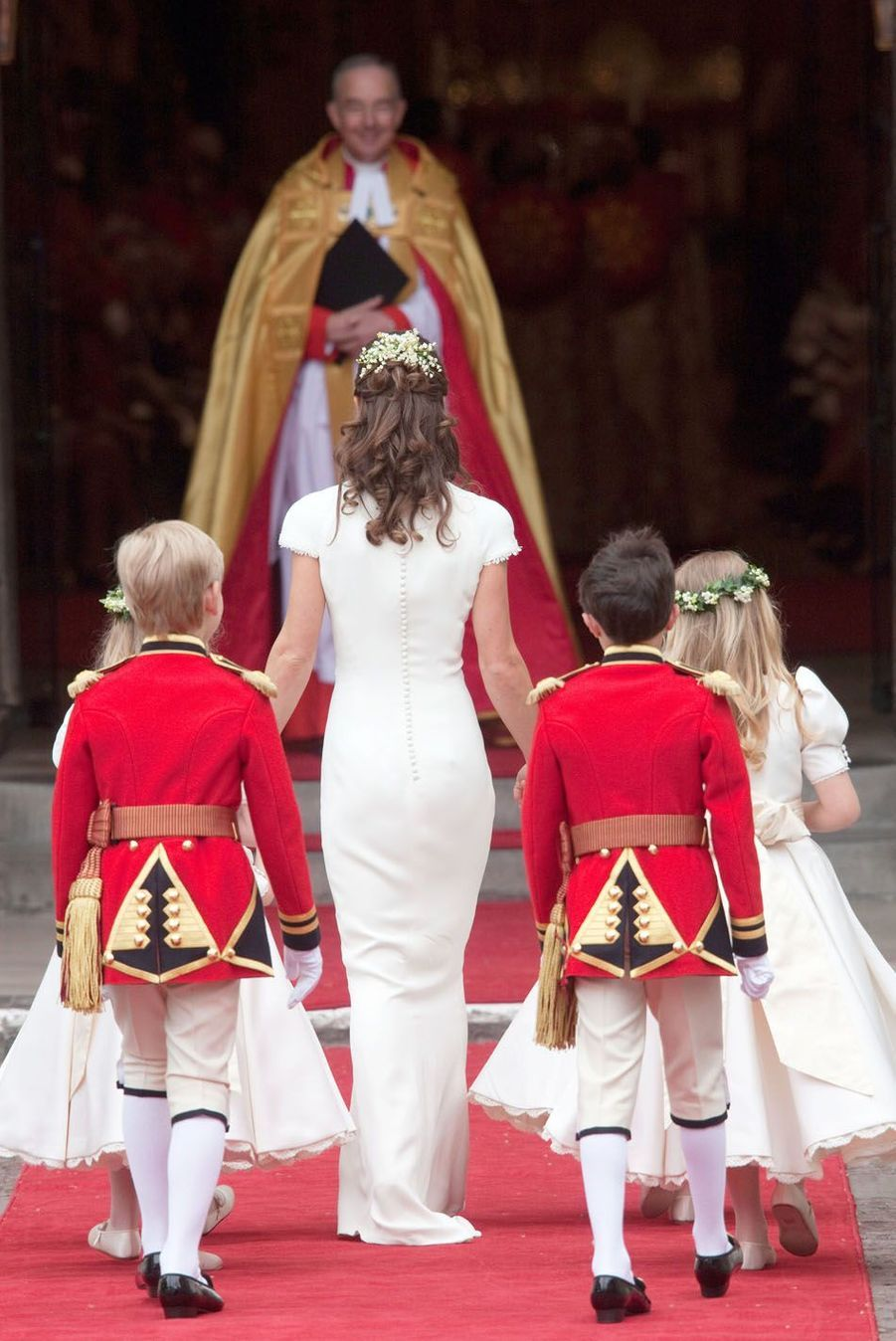 Pippa Middleton Au Mariage De Sa Soeur Kate Middleton Avec Le Prince William, Le 29 Avril 2011 À Londres 8
