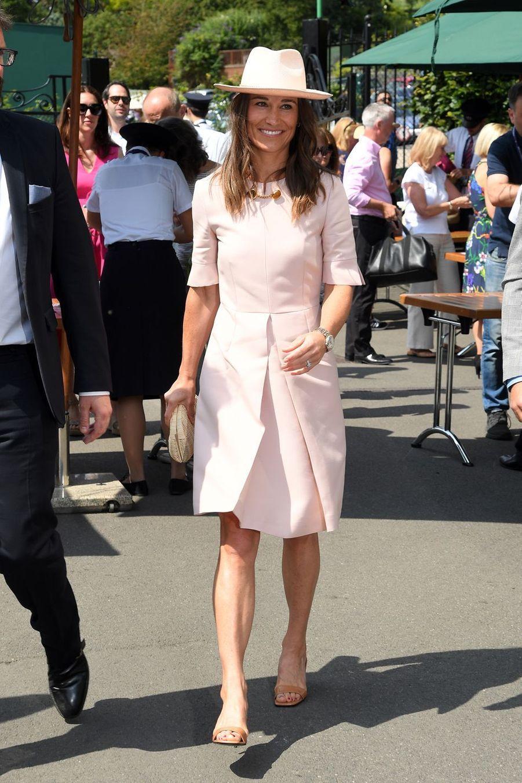 Pippa Middleton à Wimbledon le 8 juillet 2019
