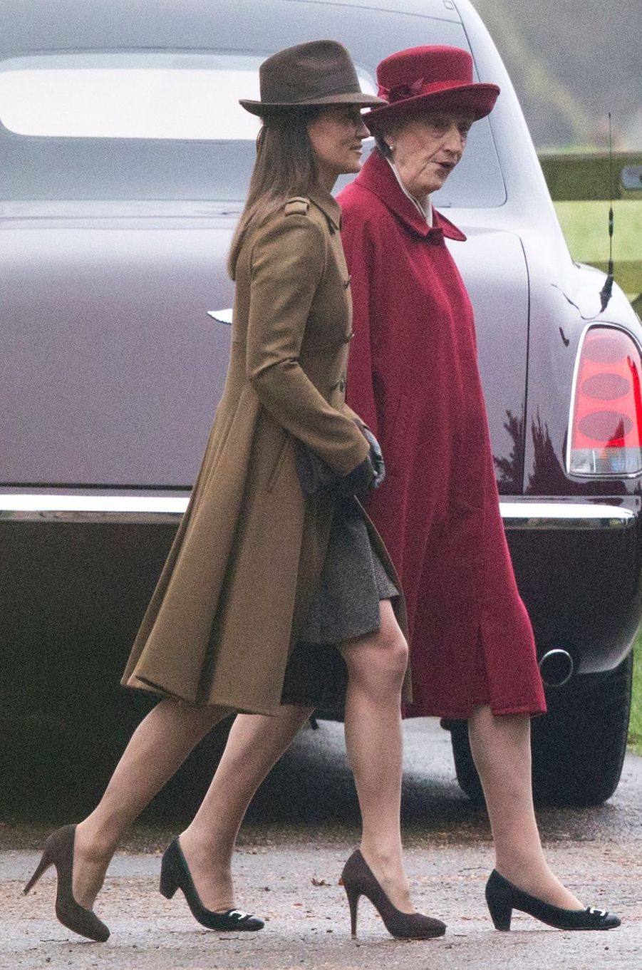 Pippa Middleton le 8 janvier 2017