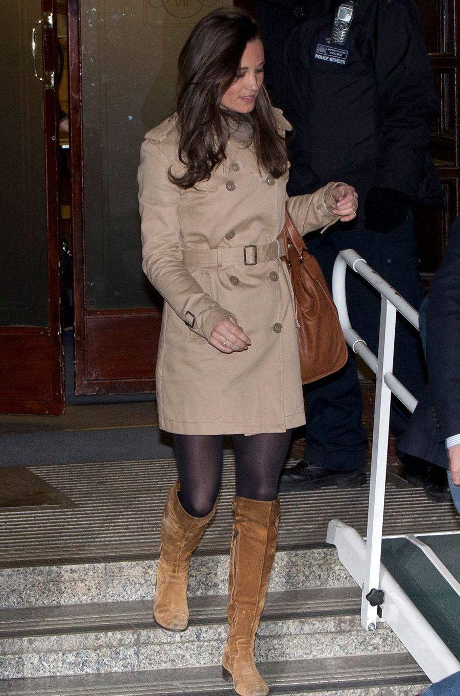 Pippa Middleton le 5 décembre 2012