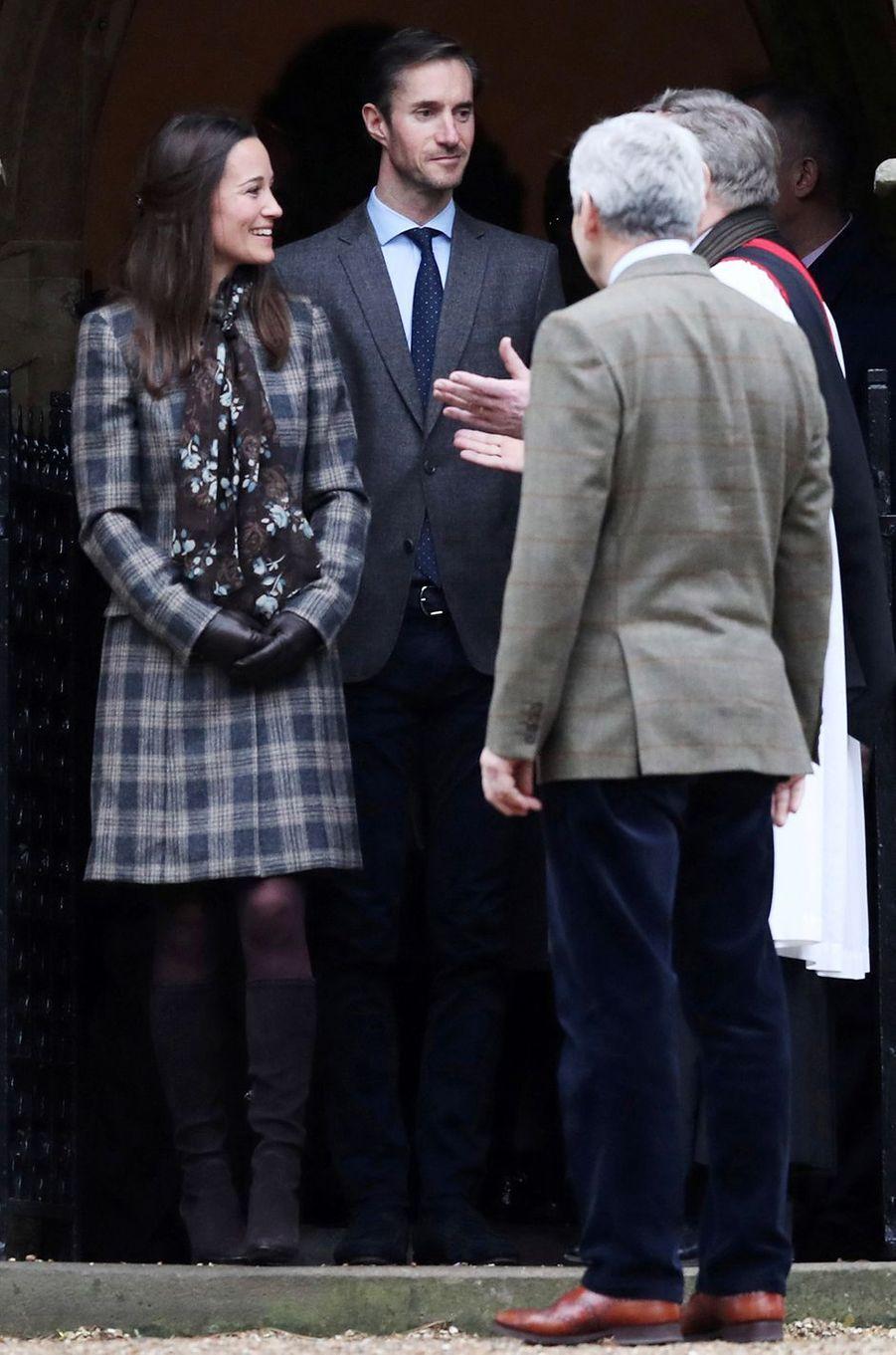 Pippa Middleton le 25 décembre 2016
