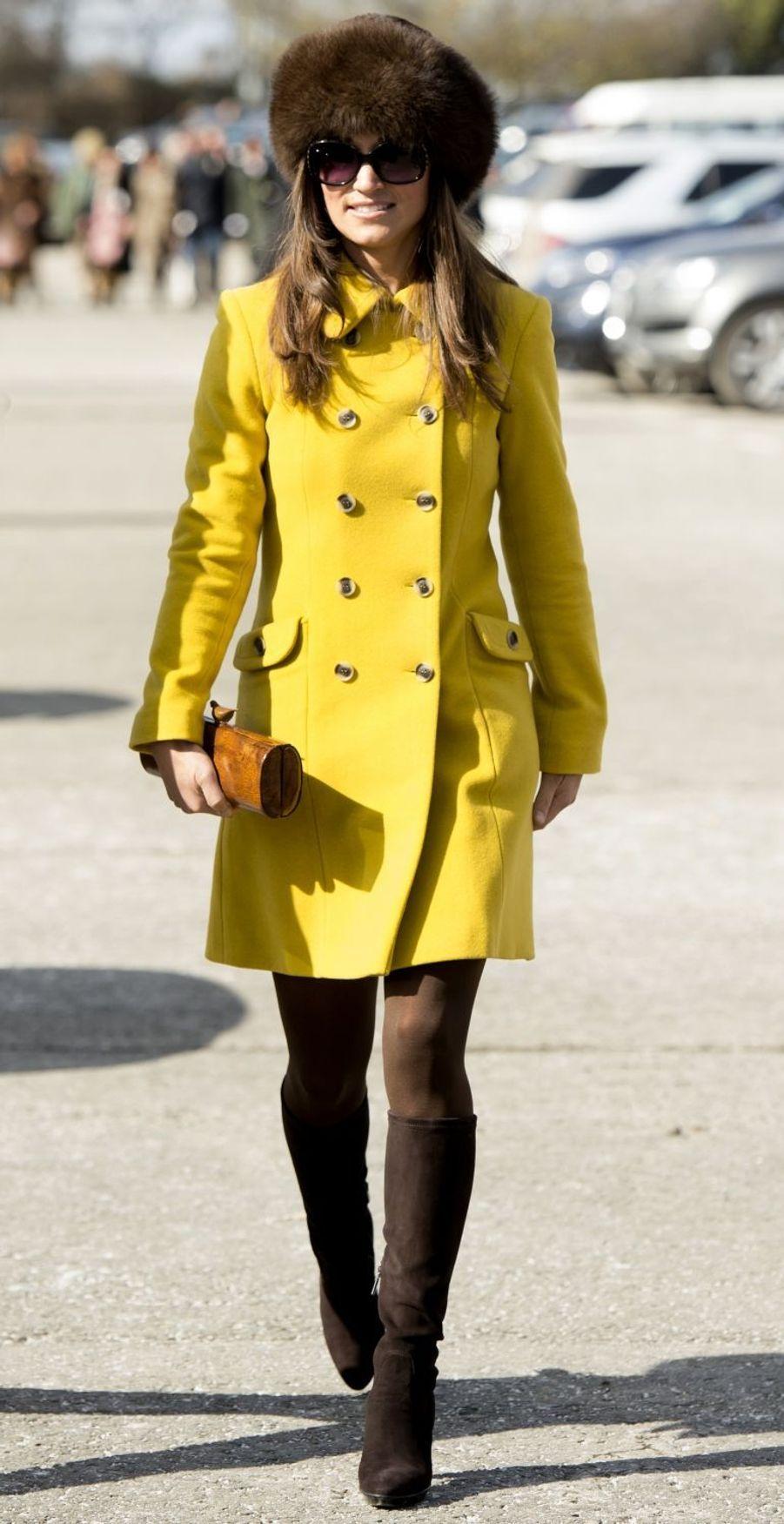 Pippa Middleton le 14 mars 2013