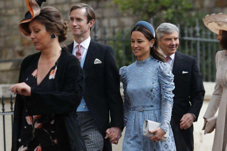 James Matthews et Pippa Middleton à Windsor le 18 mai 2019