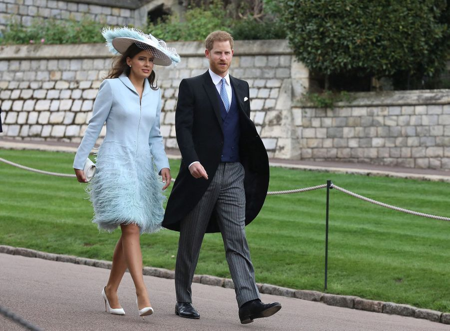 Lady Frederick Windsor et le prince Harry à Windsor le 19 mai 2019