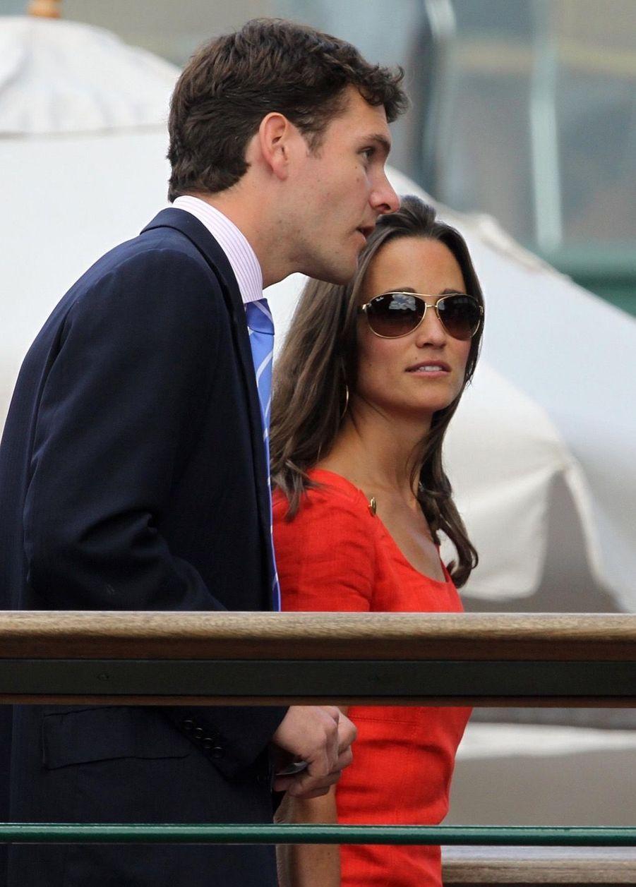 Pippa Middleton et Alex Loudon en juin 2011