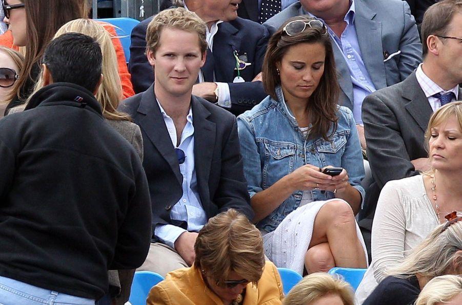 Pippa Middleton et George Percy, en juin 2011