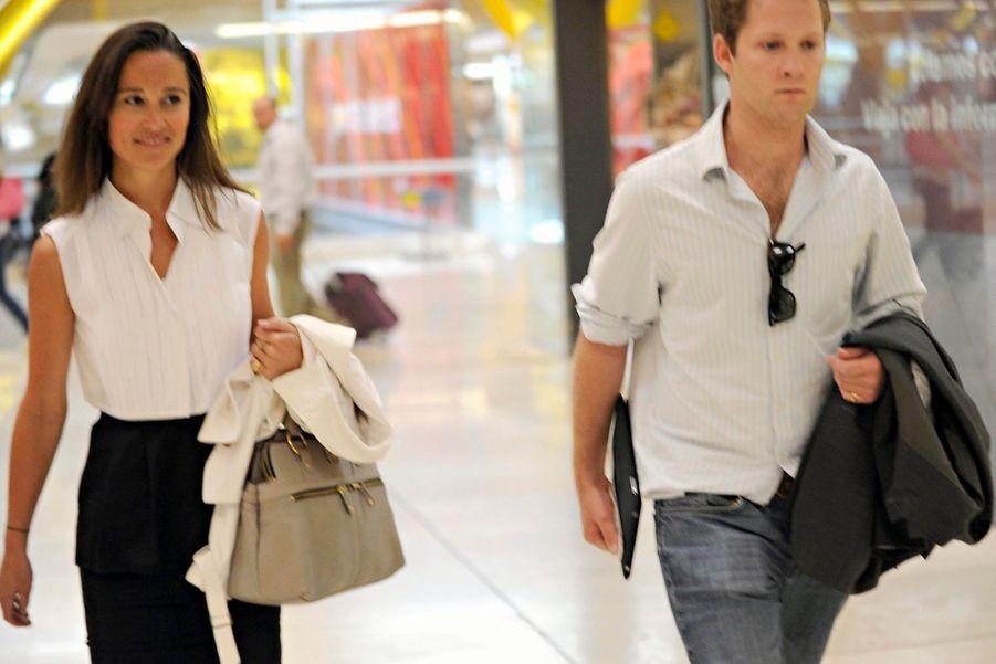Pippa Middleton et George Percy, en mai 2011