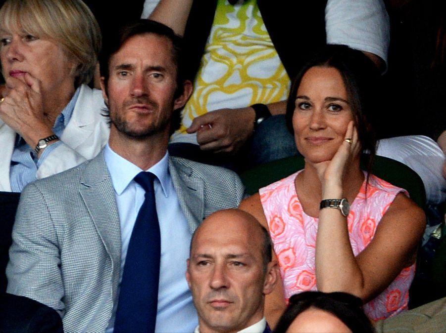 Pippa Middleton et James Matthews en mai 2017