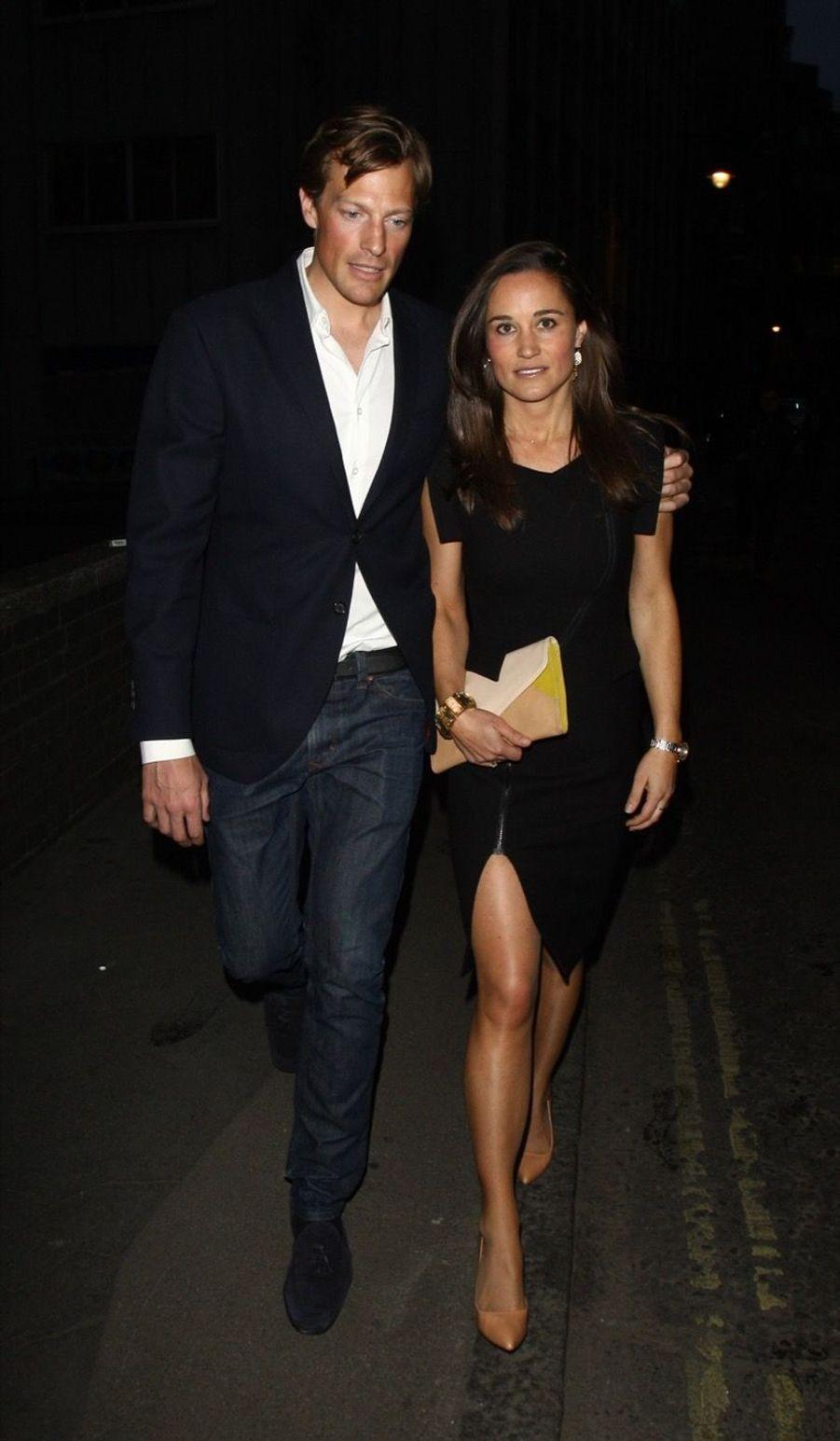 Pippa Middleton et Nico Jackson en mai 2013