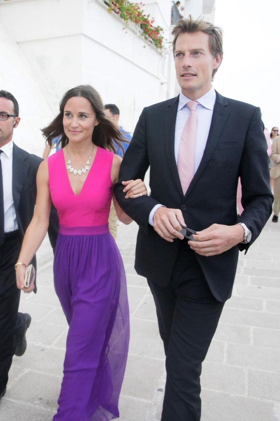 Pippa Middleton et Nico Jackson en septembre 2014