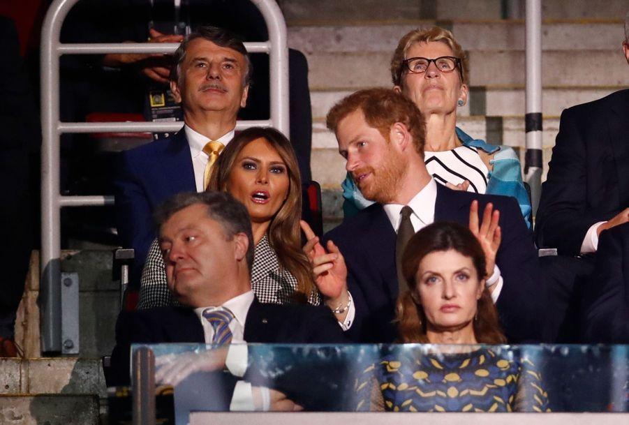 Harry Et Meghan Markle À Toronto Pour L'inauguration Des Invictus Games 12