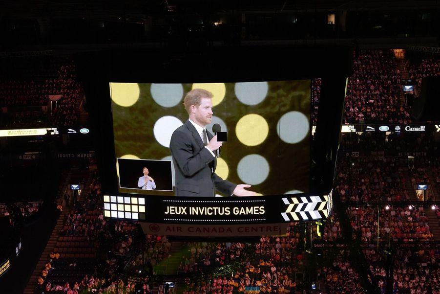 Harry Et Meghan Markle À Toronto Pour L'inauguration Des Invictus Games 2
