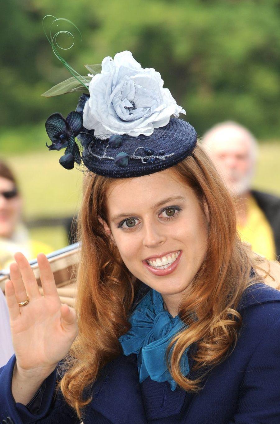 La princesse Beatrice d'York, le 16 juin 2011