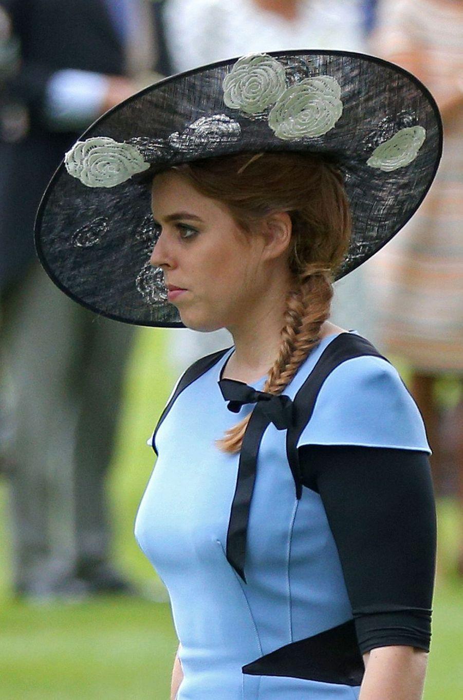 La princesse Beatrice d'York, le 22 juin 2017