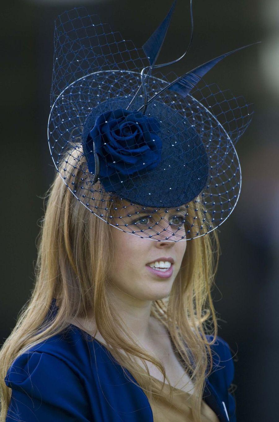 La princesse Beatrice d'York, le 17 juin 2010