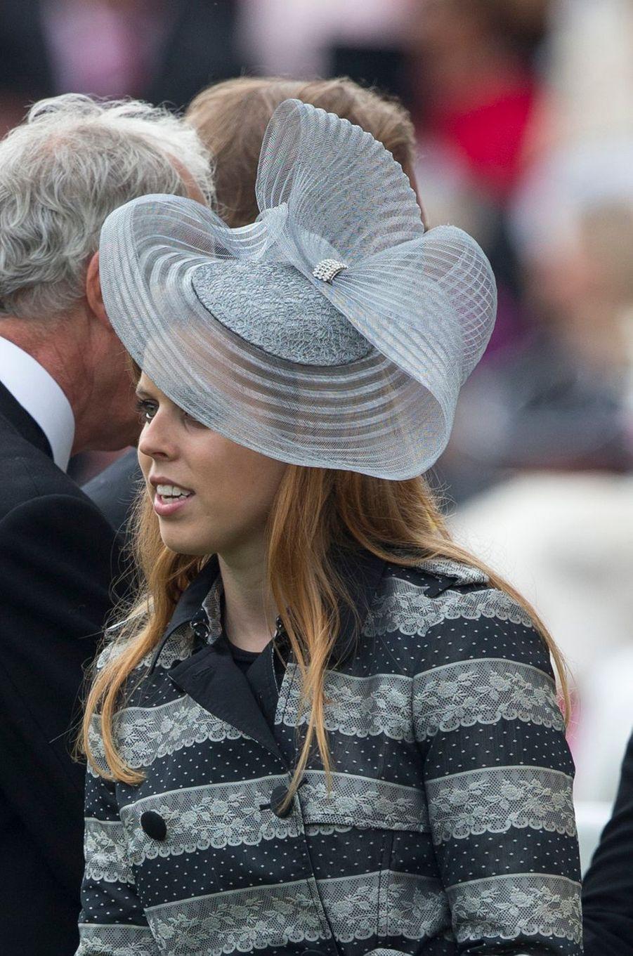 La princesse Beatrice d'York, le 18 juin 2013