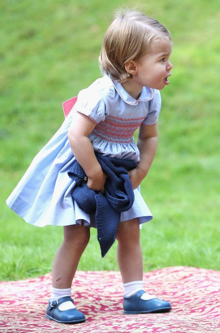 La princesse Charlotte de Cambridge à Victoria, le 27 septembre 2016