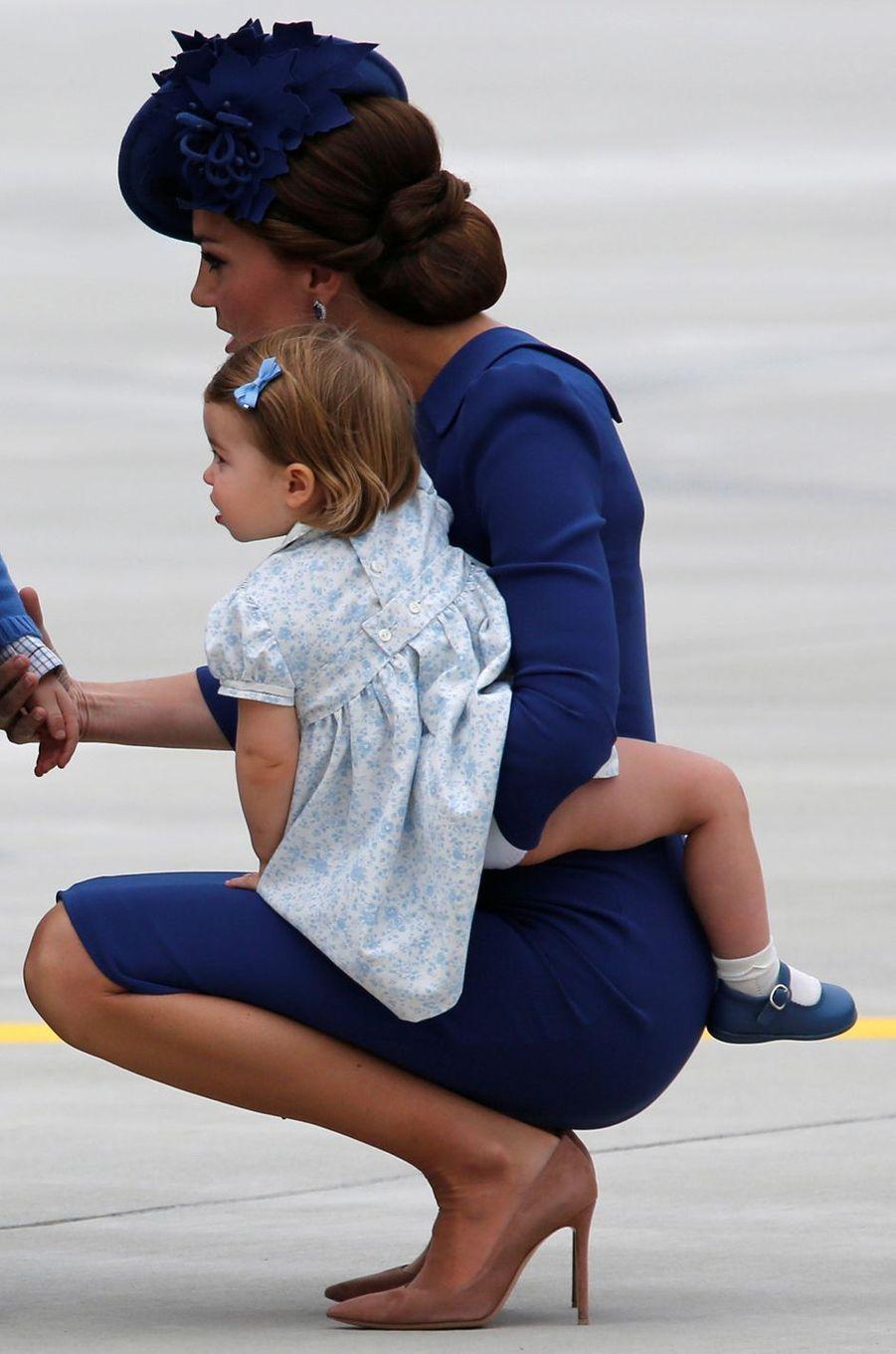 La princesse Charlotte de Cambridge à Victoria, le 24 septembre 2016