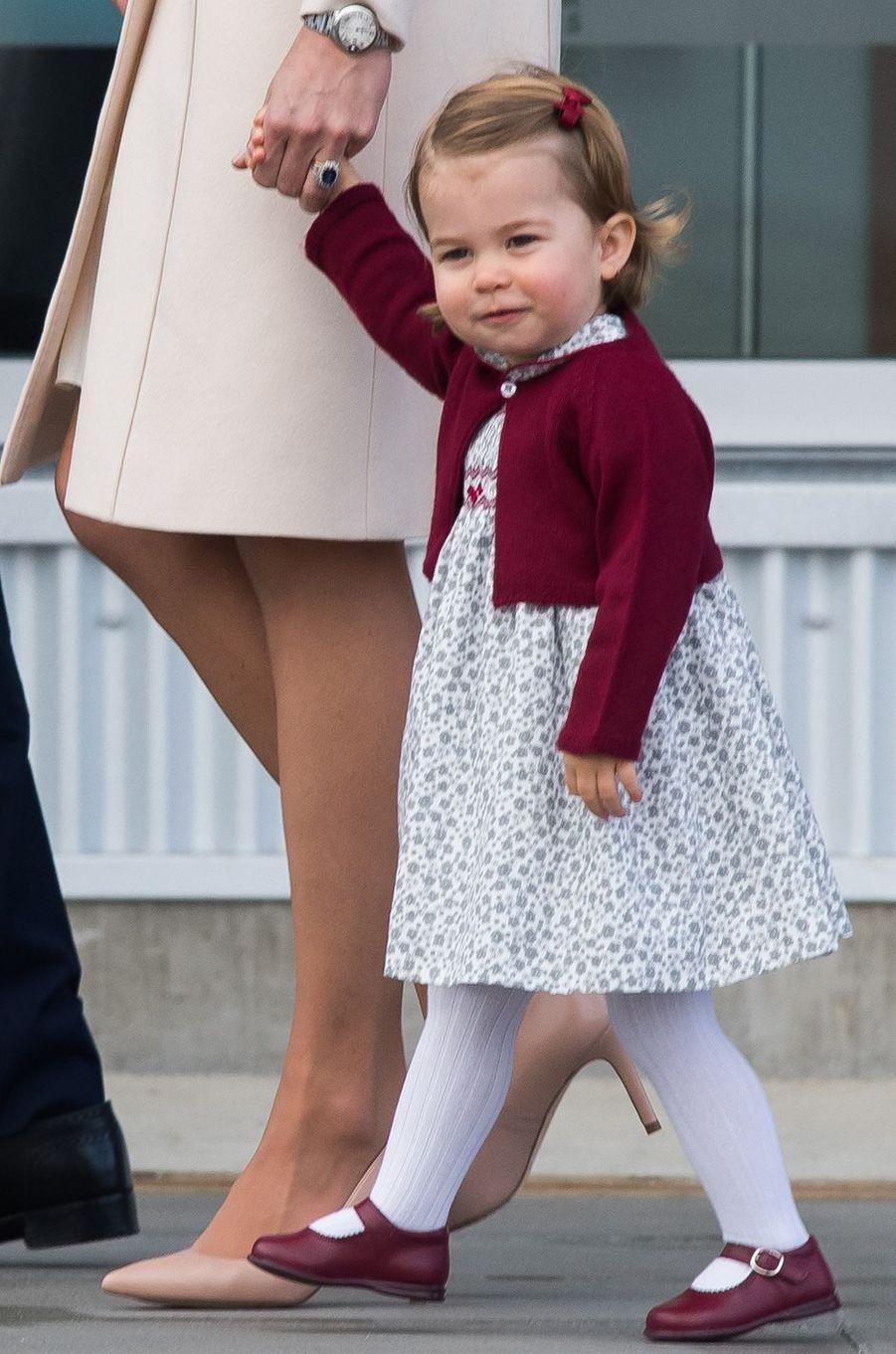 La princesse Charlotte de Cambridge à Victoria, le 1er octobre 2016