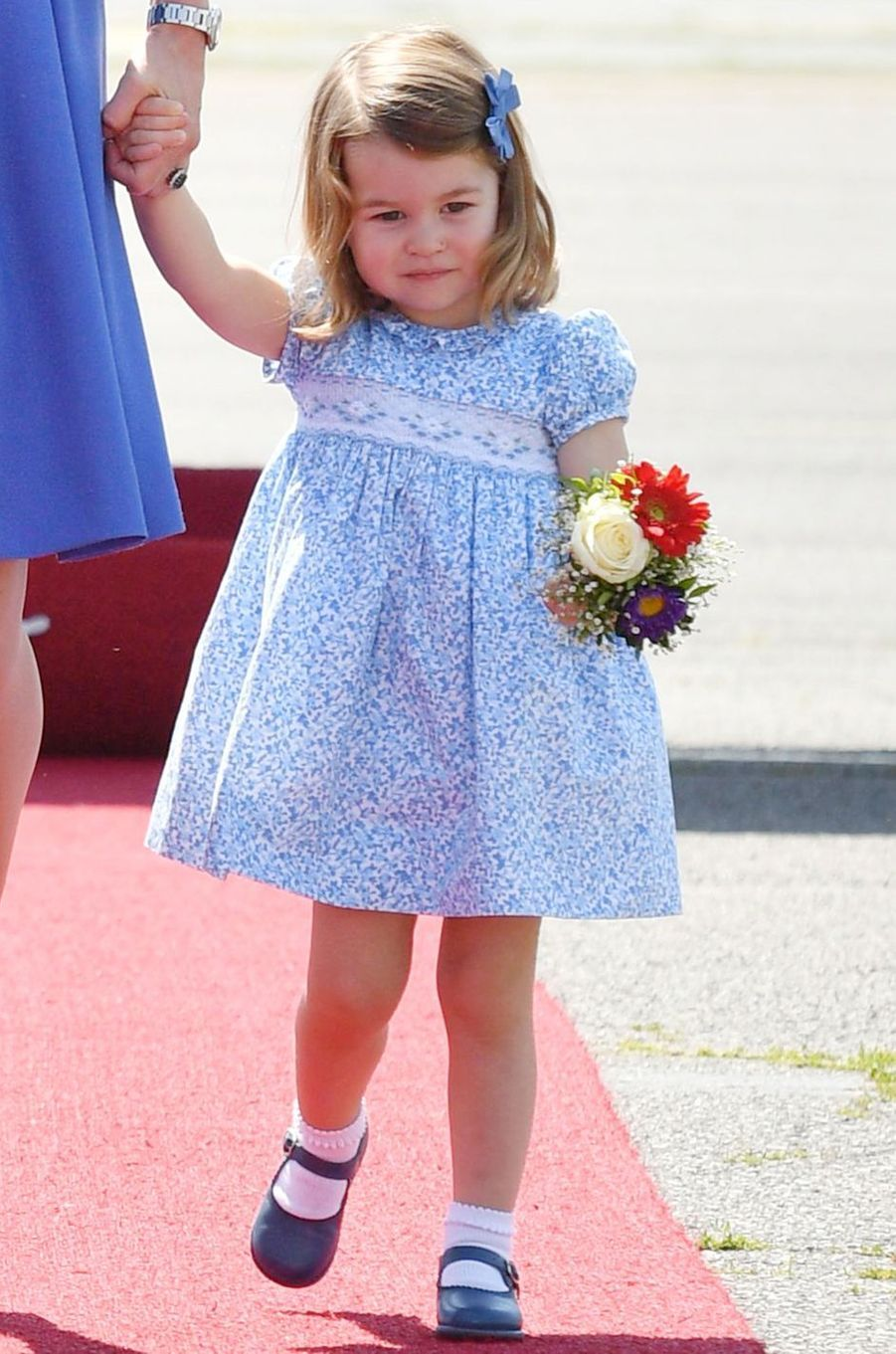 La princesse Charlotte de Cambridge à Berlin, le 19 juillet 2017
