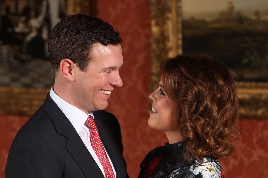 Les photos officielles des fiançailles de la princesse Eugenie et Jack Brooksbank