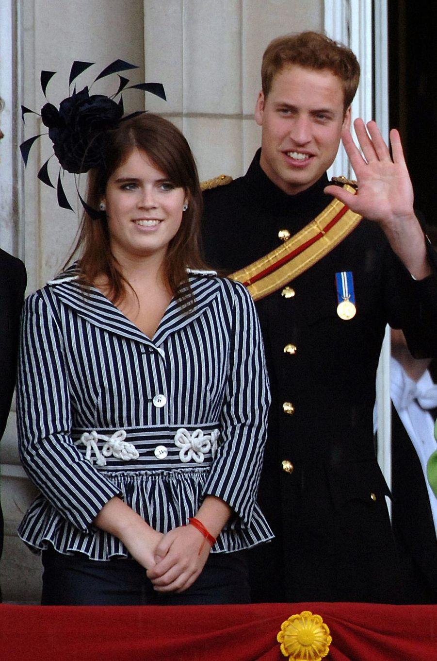 Le chapeau de la princesse Eugenie d'York, le 16 juin 2007