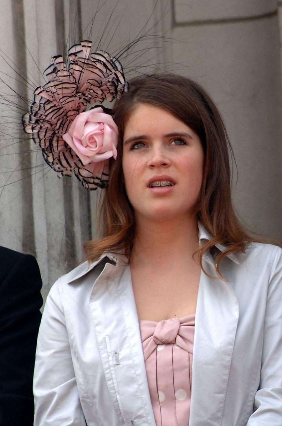 Le chapeau de la princesse Eugenie d'York, le 17 juin 2006