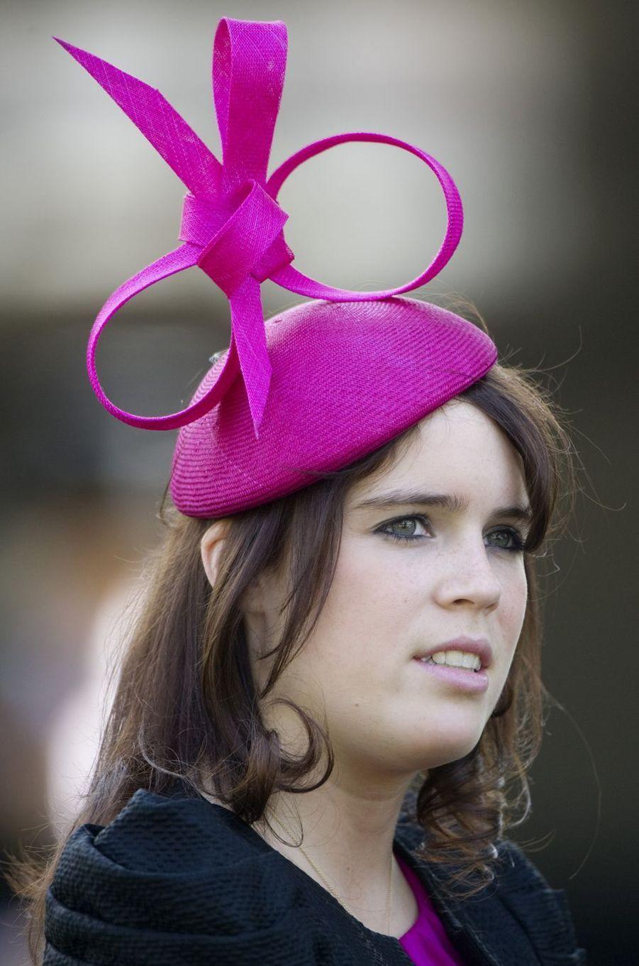 Le chapeau de la princesse Eugenie d'York, le 17 juin 2010