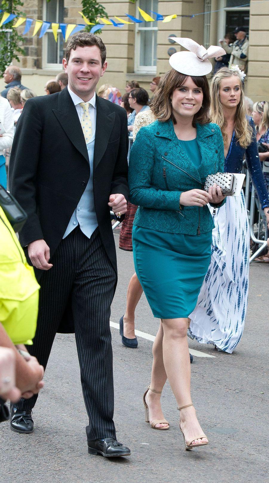 La princesse Eugenie d'York et Jack Brooksbank, le 22 juin 2013