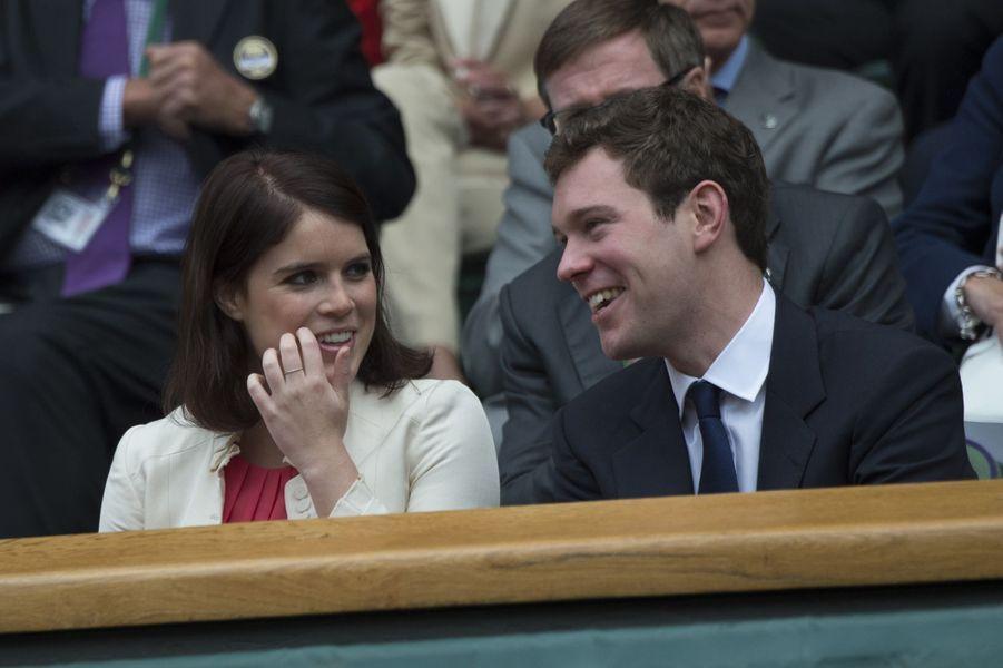 La princesse Eugenie d'York et Jack Brooksbank, le 5 juillet 2014