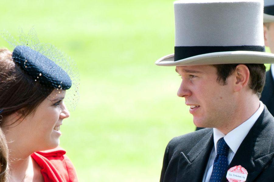 La princesse Eugenie d'York et Jack Brooksbank, le 18 juin 2011