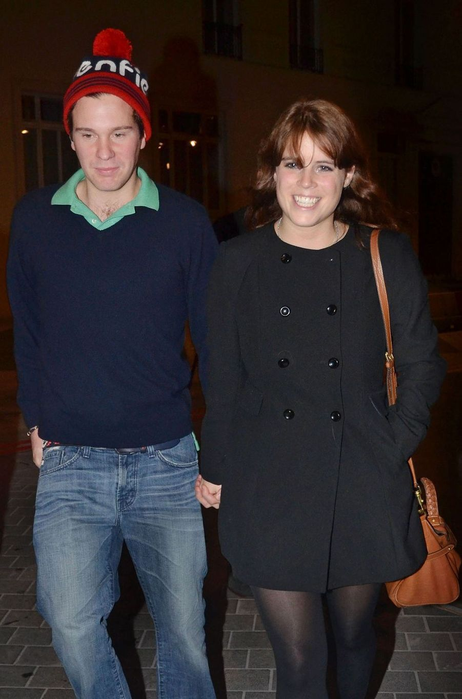 La princesse Eugenie d'York et Jack Brooksbank, le 22 octobre 2011