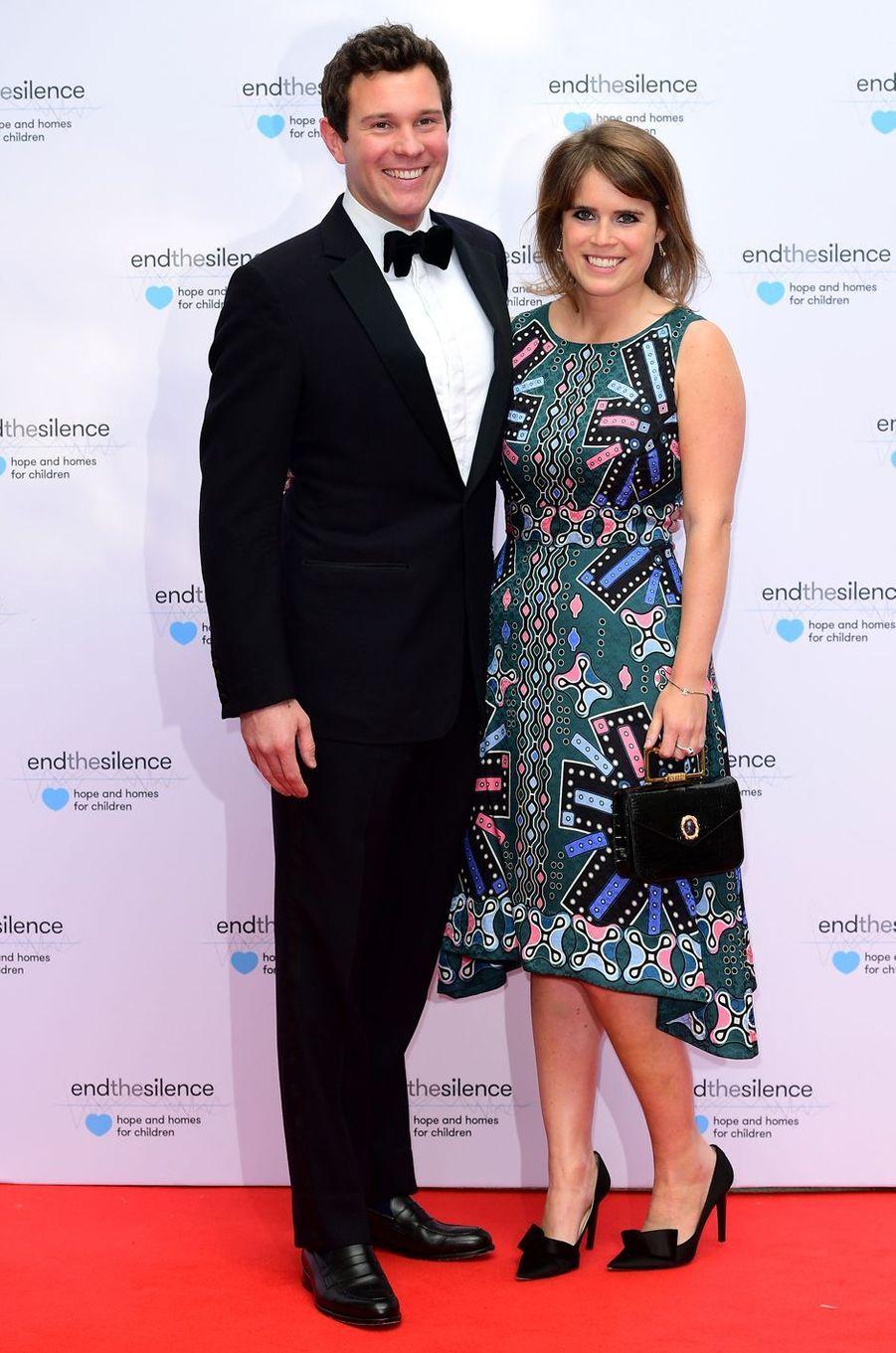 La princesse Eugenie d'York et Jack Brooksbank, le 31 mai 2017