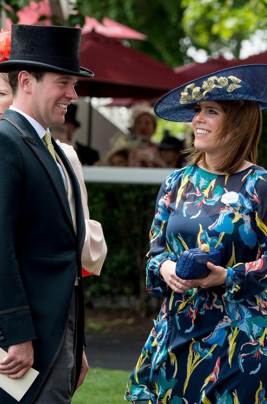 La princesse Eugenie d'York et Jack Brooksbank, le 23 juin 2017