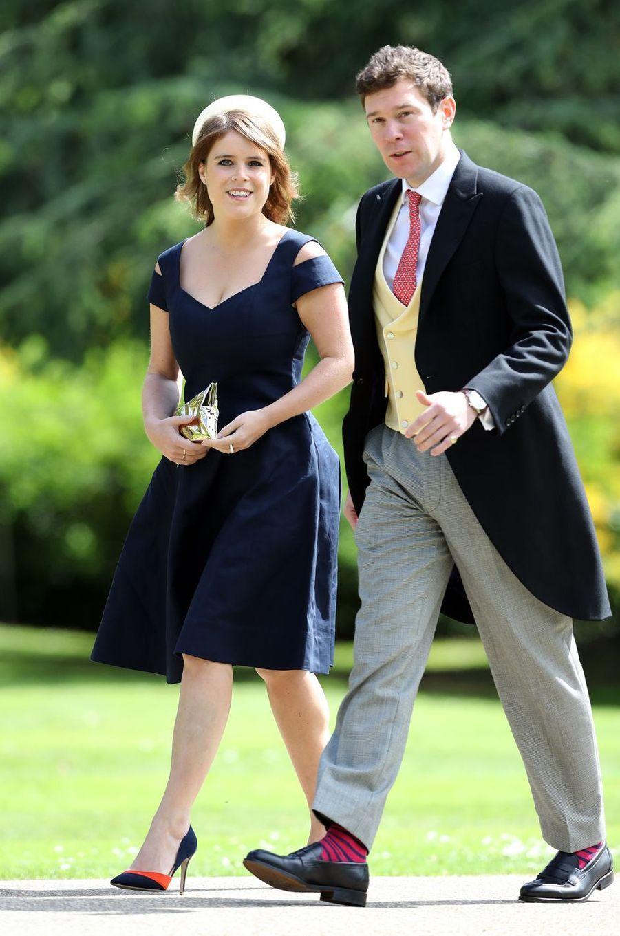 La princesse Eugenie d'York et Jack Brooksbank, le 20 mai 2017