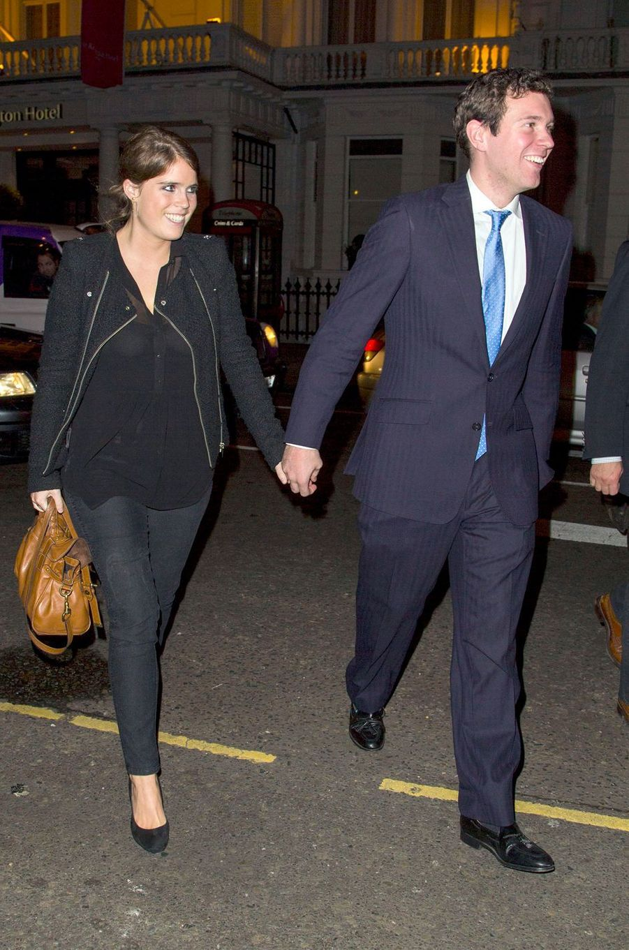 La princesse Eugenie d'York et Jack Brooksbank, le 18 octobre 2012