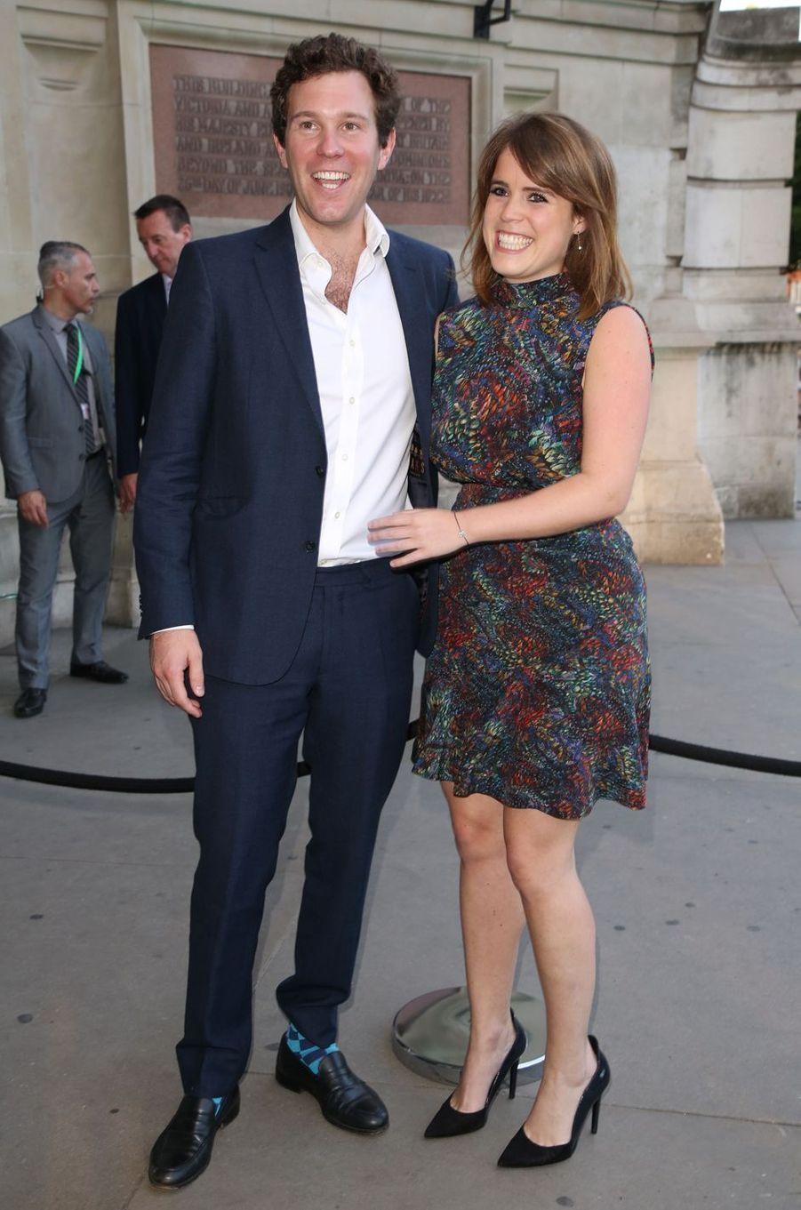 La princesse Eugenie d'York et Jack Brooksbank, le 21 juin 2017
