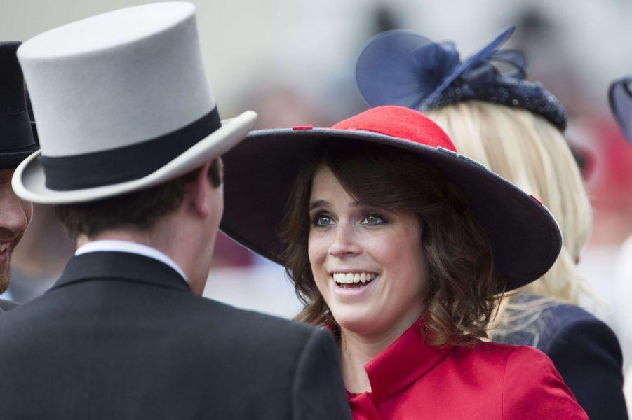 La princesse Eugenie d'York et Jack Brooksbank, le 21 juin 2014