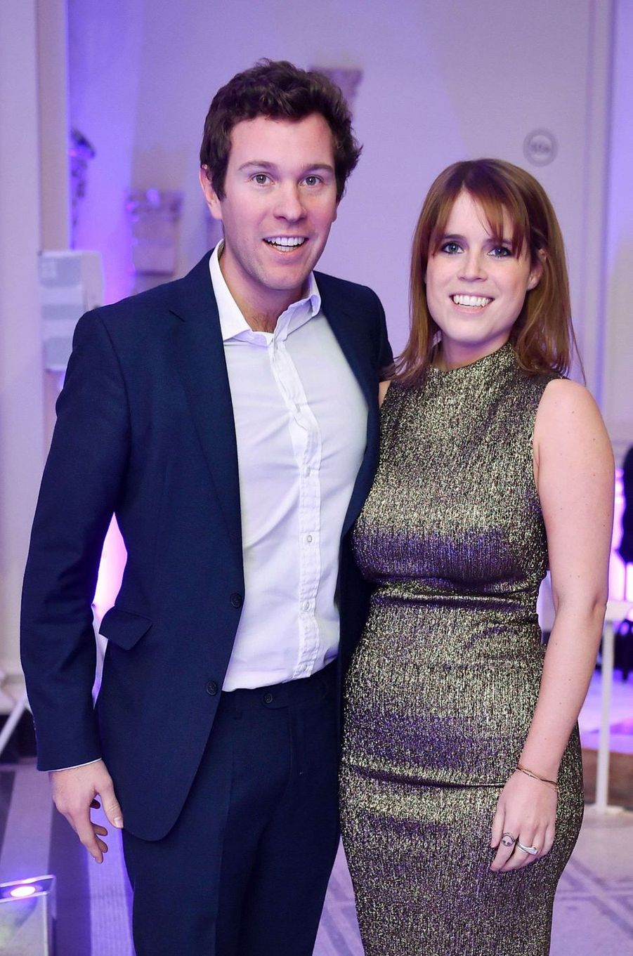 La princesse Eugenie d'York et Jack Brooksbank, le 25 octobre 2016