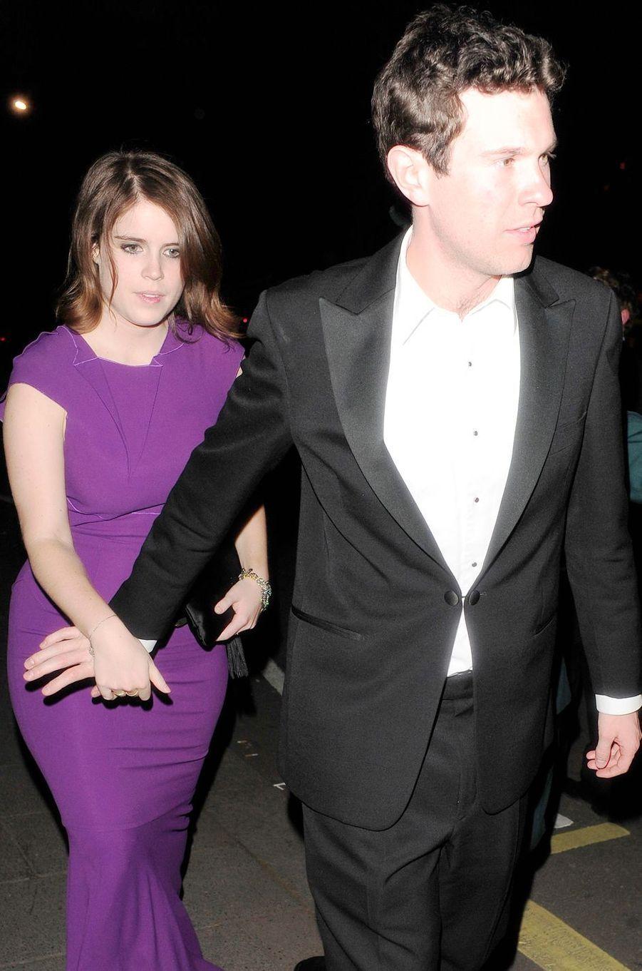 La princesse Eugenie d'York et Jack Brooksbank, le 16 mai 2014