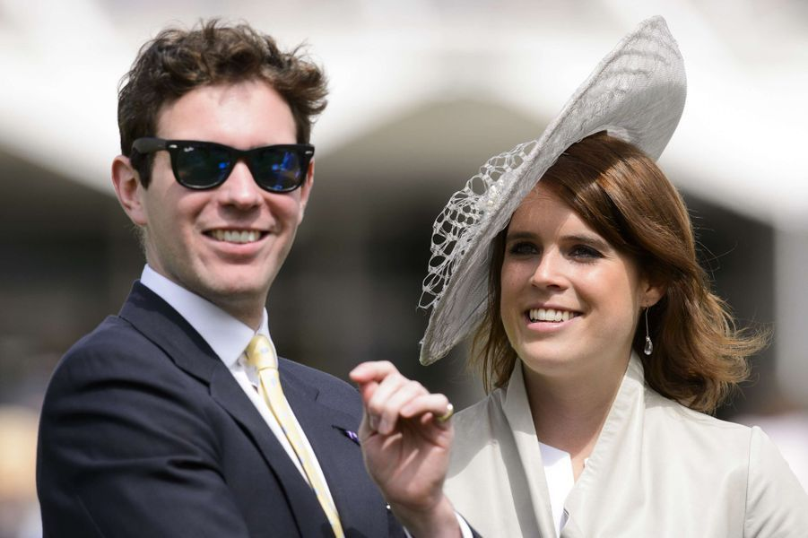 La princesse Eugenie d'York et Jack Brooksbank, le 30 juillet 2015