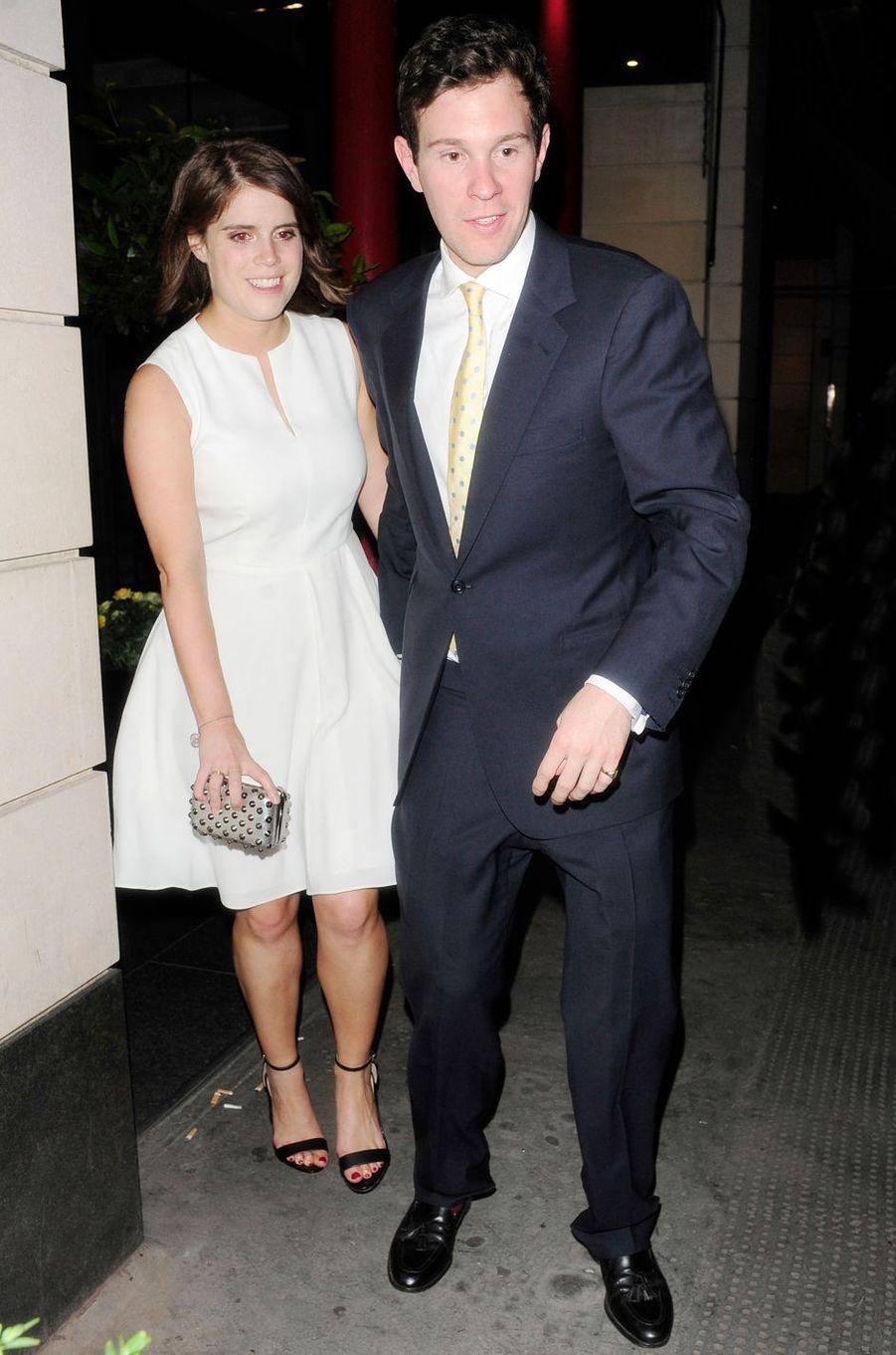 La princesse Eugenie d'York et Jack Brooksbank, le 11 juin 2014
