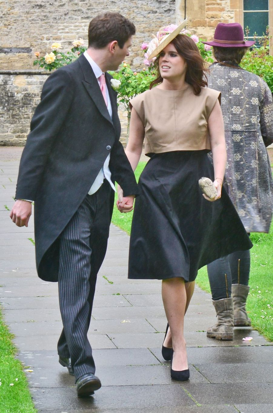 La princesse Eugenie d'York et Jack Brooksbank, le 13 juin 2015