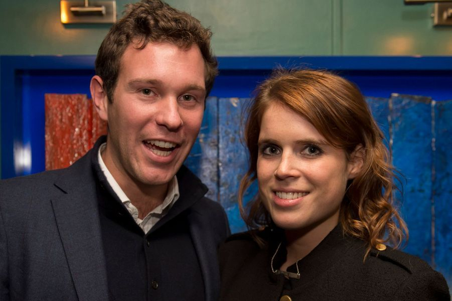 La princesse Eugenie d'York et Jack Brooksbank, le 4 octobre 2016