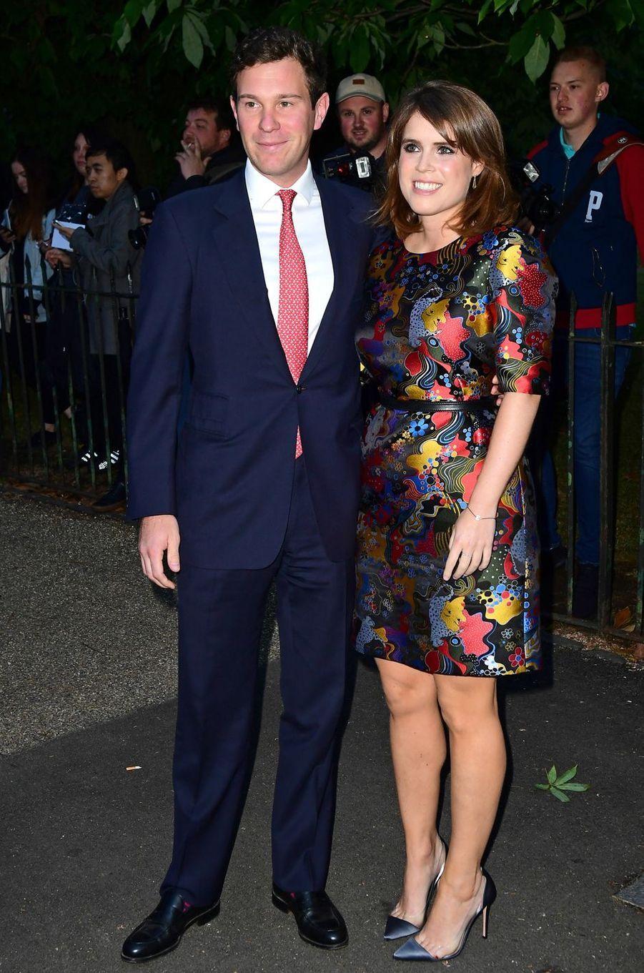 La princesse Eugenie d'York et Jack Brooksbank, le 28 juin 2017