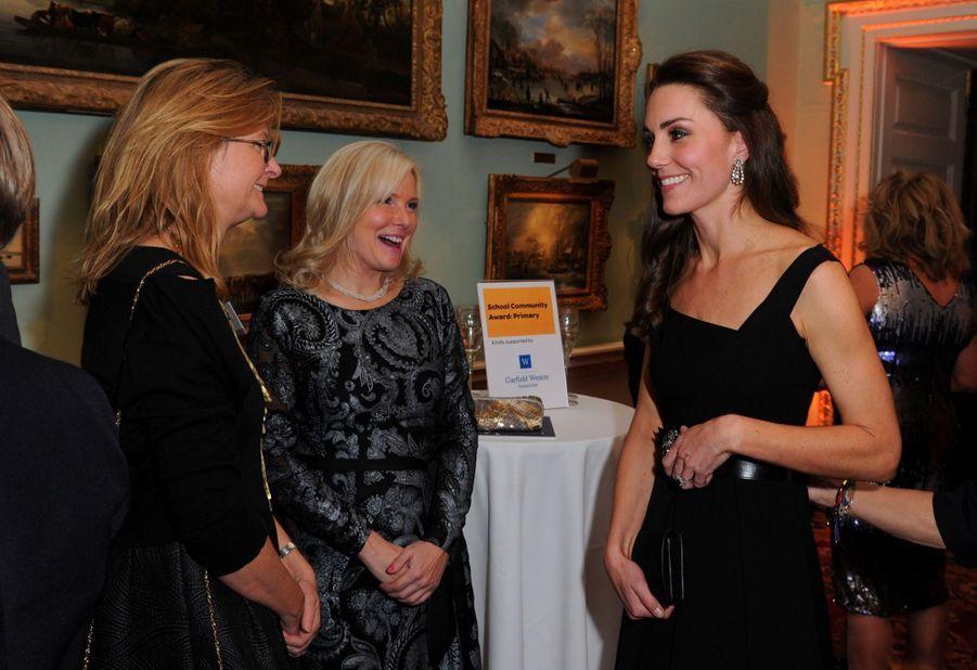 """Kate Middleton À La Remise Des Prix """"Place2Be Wellbeing In Schools"""" À Londres 12"""