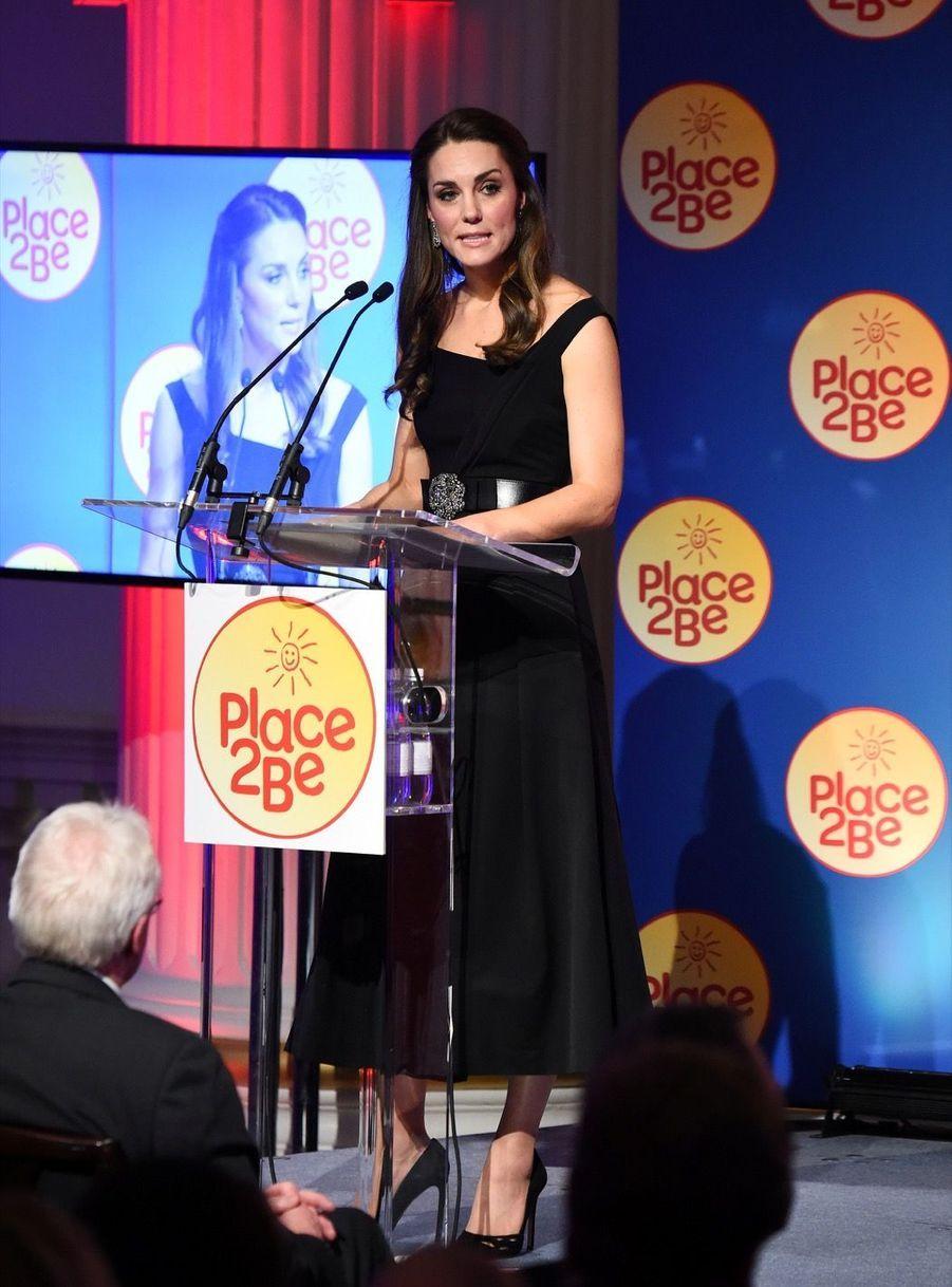 """Kate Middleton À La Remise Des Prix """"Place2Be Wellbeing In Schools"""" À Londres 14"""